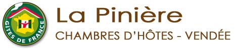 Chambres d'hôtes Vendée – Gites de France – Talmont Saint Hilaire – La Pinière